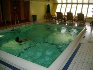 Das größte Flussschiff der Donau verfügt über ein eigenes Hallenbad und einem erholsamen SPA-Bereich